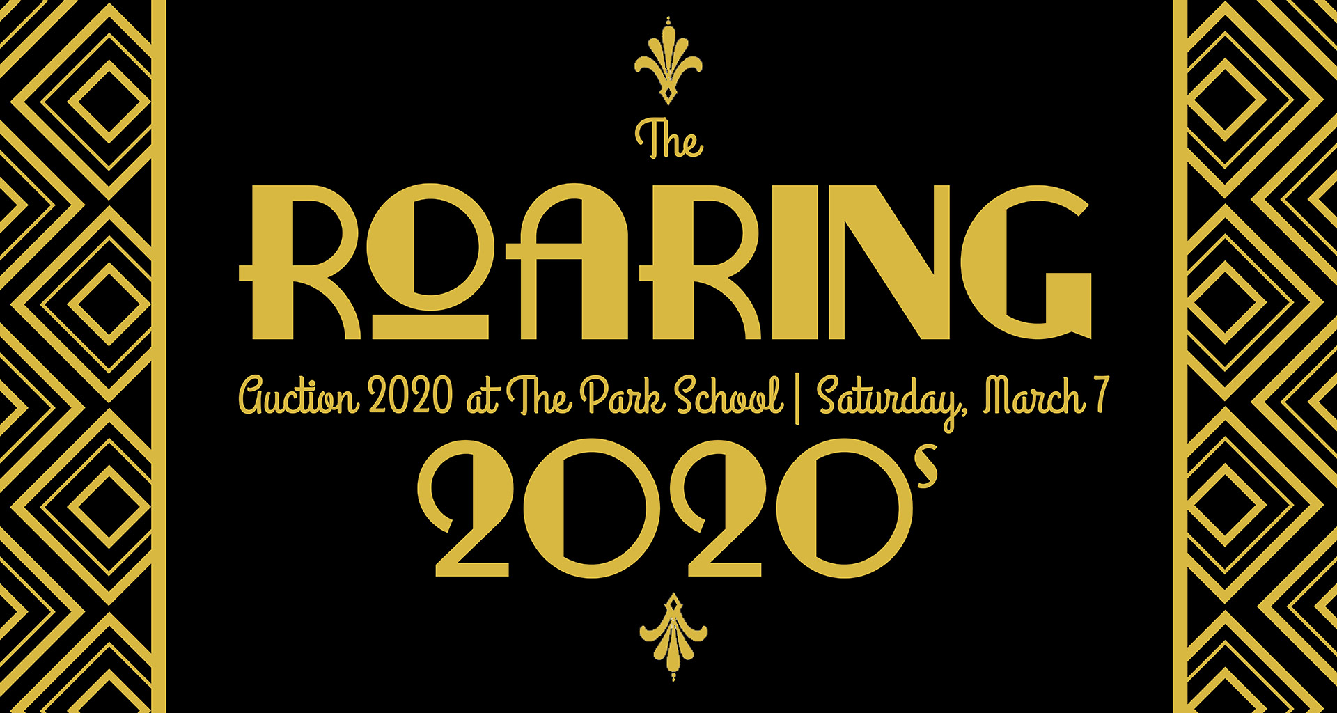 2020 auction banner